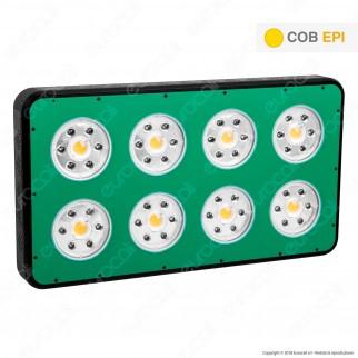 Ortoled Basestar Total Agro Lampada LED 720W per Coltivazione Indoor Consumo Reale 480W