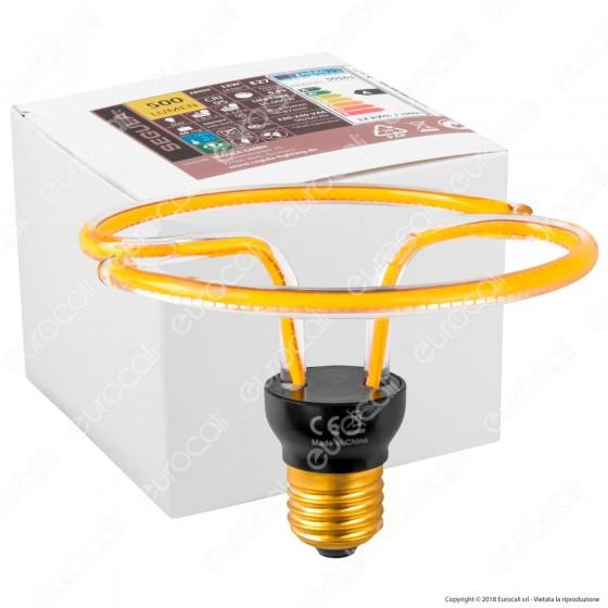 Segula Art Line Lampadina E27 Filamento LED Modellato 12W Forma Ufo Dimmerabile mod. 50161