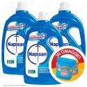 Kit Napisan Detersivo Igienizzante 2in1 - 3 Flaconi da 1700ml