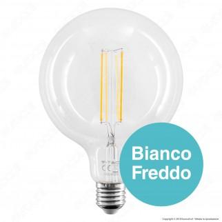 V-Tac VT-2143 Lampadina LED Filament E27 12,5W Globo G125 - SKU 7453 - 7454 - 7455