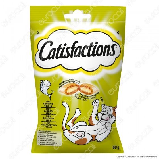 Catisfactions Snack al Tonno per Gatti - Confezione 60g