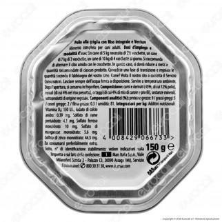 Cesar Scelta dello Chef per Cani con Pollo alla Griglia, Riso Integrale e Verdure - 14 Vaschette da 150g
