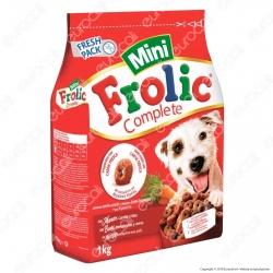 Frolic Mini Cibo Semi Umido per Cani con Manzo, Carote e Riso - Sacchetto da 1Kg
