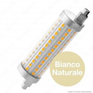 Bot Lighting Lampadina LED R7s L118 15W Tubolare con Attacco Asimmetrico Dimmerabile - mod. SLD9716X2D / SLD9716X3D