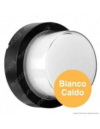 V-Tac VT-828 Lampada LED da Muro 12W Wall Light Colore Nero - SKU 8541