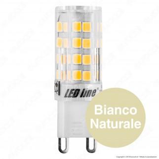 LED Line Lampadina LED G9 4W Bulb Ceramic - mod. 245480 / 245534 / 245541