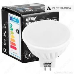 LED Line Lampadina LED GU5.3 (MR16) 7W Faretto Spotlight in Ceramica - mod. 247637 / 247644
