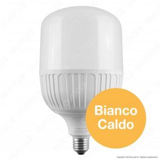 Intereurope Light Lampadina LED E27 50W Tubolare T130 - mod. LL-BAYE-13050C / LL-BAYE-13050F