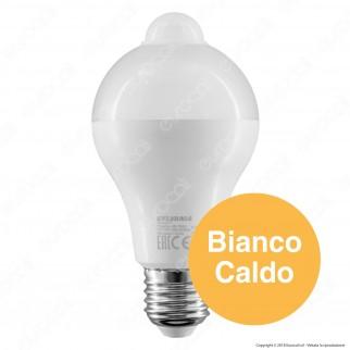 Sylvania ToLEDo Presence Lampadina LED E27 12W Bulb A65 con Sensore di Movimento Integrato - mod. 27547