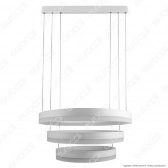 V-Tac VT-82-3D Lampada LED a Sospensione di Colore Bianco 80W Dimmerabile - SKU 3989