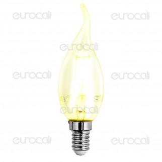 V-Tac VT-1886 Lampadina LED E14 2W Candela Filamento