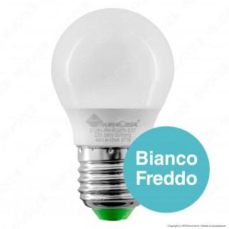 Marino Cristal Serie ECO Lampadina LED E27 5W MiniGlobo G45 Filament - mod. 21279 / 21280 / 21281