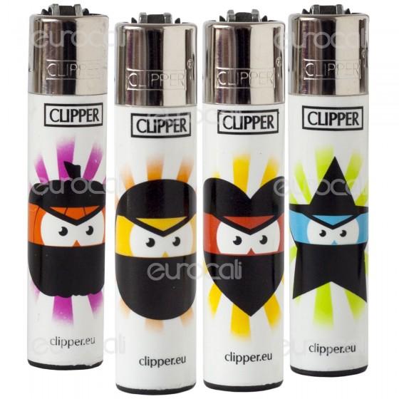 Clipper Large Fantasia Eyes Emoticon - 4 Accendini