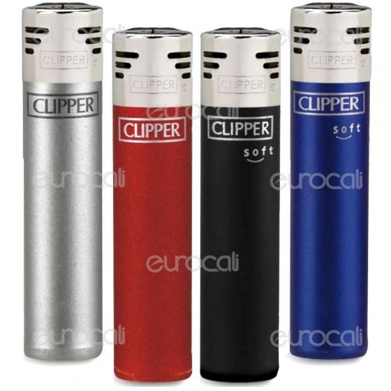 Clipper Large Elettronico Fantasia Elegant - 4 Accendini