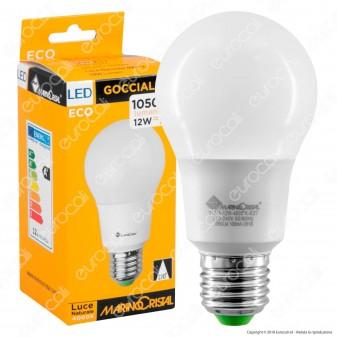 Marino Cristal Serie ECO Lampadina LED E27 12W Bulb A60 - mod. 21273 / 21274 / 21275