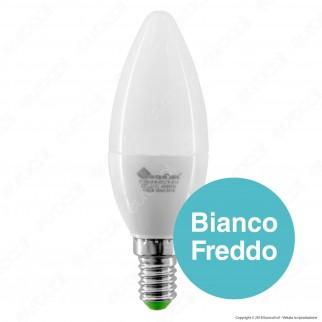 Marino Cristal Serie ECO Lampadina LED E14 5W Candela - mod. 21282 / 21283 / 21284