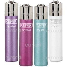 Clipper Micro Fantasia Crystal - 4 Accendini C28
