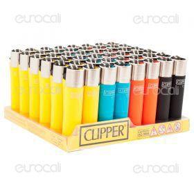Clipper Large Fantasia Soft Touch - Box da 48 Accendini C04