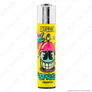 Clipper Large Fantasia Cool Spray - Box da 48 Accendini