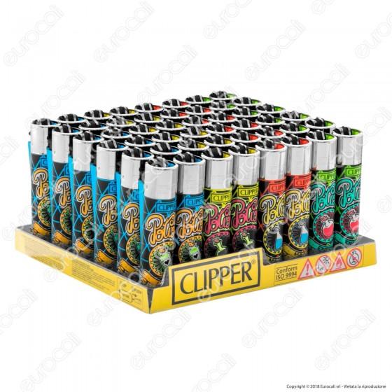 Clipper Large Fantasia Potions - Box da 48 Accendini