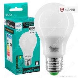 Marino Cristal Serie PRO Lampadina LED E27 10W Bulb A60 per Relè Meccanici - mod. 21492 / 21493