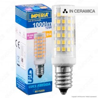 Imperia JD Ceramic Lampadina LED E14 10W Tubolare - mod. 6015186 / 6015193 / 6015209