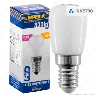 Imperia Lampadina LED E14 4W Tubolare T26 - mod. 6015278 / 6015285 / 6015292