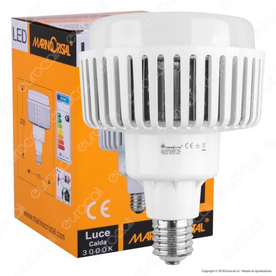 Marino Cristal Serie ECO Lampadina LED High Power Bulb E40 80W - mod. 21522 / 21523