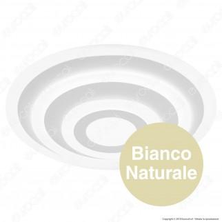 V-TAC VT-85-3D Lampadario LED Anello Triplo 85W in Metallo Bianco Dimmerabile - SKU 3910 / 3911