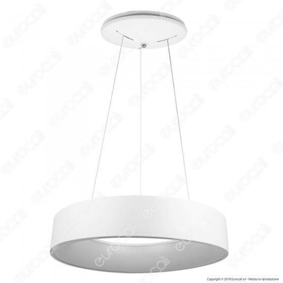 V-Tac VT-25-1 Lampada LED a Sospensione di Colore Bianco 25W - SKU 3992