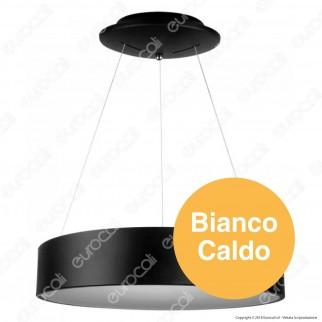 V-Tac VT-25-1 Lampada LED a Sospensione di Colore Nero 25W - SKU 3993