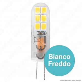 Life Lampadina LED G4 18,5W Bulb in Vetro - mod. 39.930418C / 39.930418F