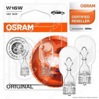 Osram Original Line 3W - 2 Lampadina W16W