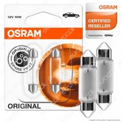 Osram Original Line 10W - 2 Lampadine C10W