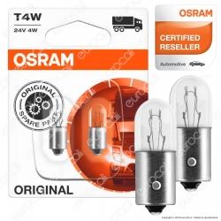 Osram Original Line per Camion 4W - 2 Lampadine T4W