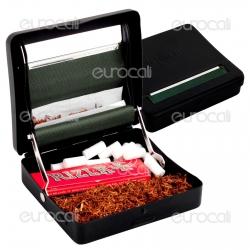 Pinch Rollatore Tabacchiera Nera per Cartine Corte