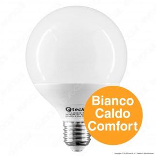 Qtech Lampadina LED E27 15W Globo G95 - mod. 90020046 / 90020044 / 90020045