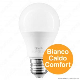Qtech Lampadina LED E27 8W Bulb A60 - mod. 90020026 / 90020027 / 90020028 / 90020029