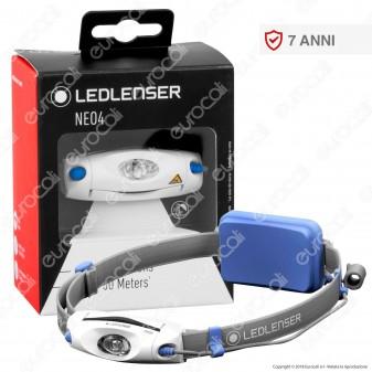 Ledlenser Neo 4 Torcia LED Headlight Multifunzione Colore Blu - Torcia Frontale - mod. 500914