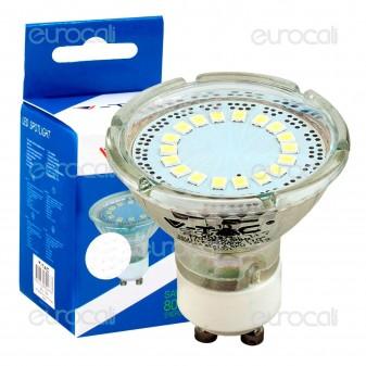 V-Tac VT-1859 Lampadina LED GU10 3W Faretto Spotlight - SKU 1598 / 1599 / 1600