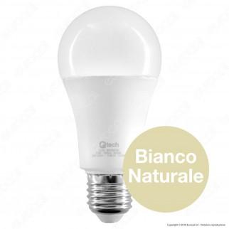 Qtech Lampadina LED E27 12W Bulb A60 Dimmerabile - mod. 90020039 / 90020040 / 90020041