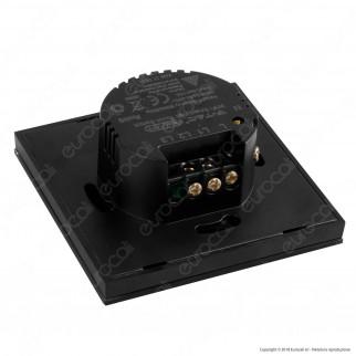 V-Tac Smart VT-5004 Interruttore Touch Wi-Fi Colore Nero con 2 Tasti - SKU 8424