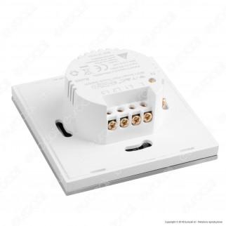 V-Tac Smart VT-5005 Interruttore Touch Wi-Fi Colore Bianco con 3 Tasti - SKU 8419