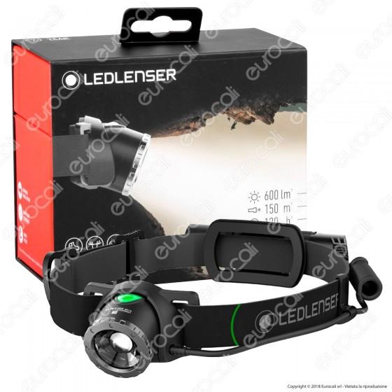 Ledlenser MH10 Torcia LED Headlight Multifunzione con 2 Filtri Colorati - Torcia Frontale - mod. 500856
