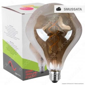 FAI Lampadina E27 Filamento LED a Doppia Spirale 5W Bulb Effetto Erosione Naturale Dimmerabile - mod. 5225/CA/FU