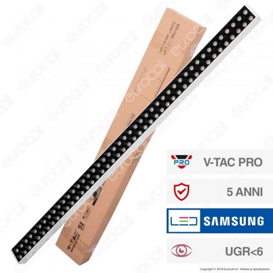 V-Tac PRO VT-7-61 Lampada LED a Sospensione Linear Light 60W Chip Samsung White Body Dimmerabile - SKU 606
