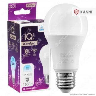 Kanlux IQ Lampadina LED E27 15W Bulb A60 Dimmerabile - mod. 27293