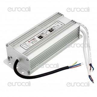 V-Tac Alimentatore 60W Impermeabile IP65 a 2 Uscite con Cavi a Saldare - SKU 3091