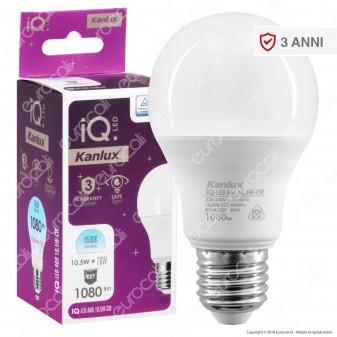 Kanlux IQ Lampadina LED E27 10,5W Bulb A60 - mod. 27273 / 27274 / 27275