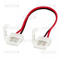 Connettore Flessibile per Strisce LED Monocolore 5050 Clip 2 Pin - SKU 3501